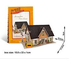 New Germany Beer Shop 3D Puzzles boys girls Model Paper DIY Educational toy