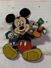 New ListingDisney Pin Disneystore Puppet Series Mickey Donald Goofy 2010 Le 250 Pp 77853