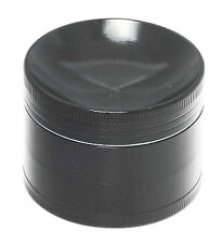 Concave 2.2 Inch 4 Layers Grinder Crusher Tobacco Herb Spice Zinc Alloy In Black
