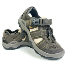 Teva Omnium 2 Leather Turkish Coffee Mens Brown Outdoor Hiking Sandals Sz 7