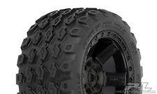 "ProLine 1175-12 Dirt Hawg 2.8"" Tires w/Desperado Wheels (2) (Black)"