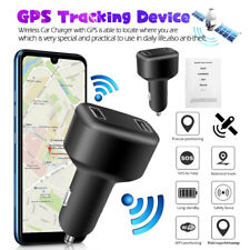 GPS Tracker Real Time Vehicle Tracking Device W/ 2USB Car Charger & Live Audio