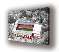 Sheffield United - Bramall Lane Wall Canvas Picture Print Wall Art  63cm x 40cm