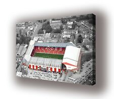 "Sheffield United - Bramall Lane - Wall Canvas 25""x16"" (63x40cm)"