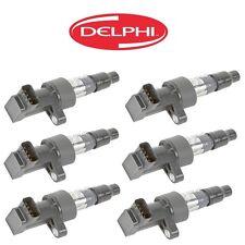 For Jaguar S-Type X-Type V6 02-08 Set of 6 Direct Ignition Coils DELPHI GN10327