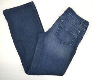 GAP Women's Trouser Boot Cut Blue Jeans 4/27