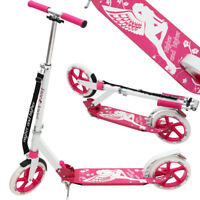 DEUBA® Cityroller Scooter Roller Kinderroller Kinder Tretroller Kickroller Pink