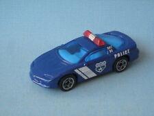 Matchbox Camaro Z-28 Police Car Blue Unit 04 Toy Model car UB