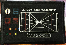 Star Wars Stay On Target Morale Patch Tactical Military Army Hook Flag USA