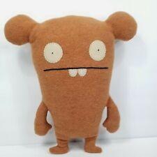 "Ugly Dolls Chuckanucka 14"" Brown Plush Stuffed Animal Pretty Ugly LLC Soft"
