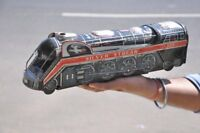 Vintage Silver Streak 3305 MT Trademark Litho Train Tin Toy , Japan
