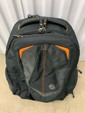 Dell Backpack Laptop Notebook Genuine RV5TV VDPX7  Black and Orange Adventure