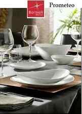 Servizio 18 piatti ovale Prometeo BORMIOLI PIATTO 6 FONDO 6 PIANO 6 FRUTTA vetro