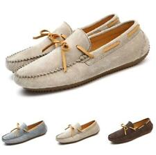 38-44 Mens Driving Moccasins Shoes Pumps Slip on Flats Loafers Breathable Soft L