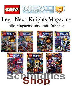 LEGO Nexo Knights Magazine inkl. Zubehör - Wählen sie ihre Magazine !