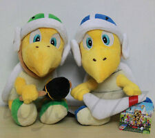 "2pcs Super Mario 8"" Hammer and Boomerang Koopa Troopa Turtle Character Plush Toy"