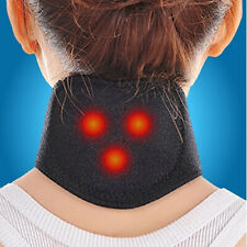Magnetic Therapy Neck Massager Belt Cervical Vertebra Protection Heating Belt US