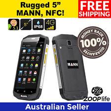 "MANN ZUG 5S Rugged Phone - IP68, NFC, 3GB RAM, Dual SIM 4G, 5"" IPS"
