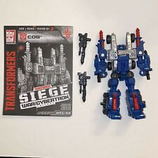 Transformers SIEGE War for Cybertron Deluxe COG - Complete W/ Instructions