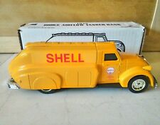 ERTL SHELL1939 Dodge Airflow Tanker Die Cast TOY Coin Bank NOS NIB