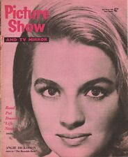 ANGIE DICKINSON - PAT BOONE - Vintage British Magazine PICTURE SHOW 1960 C#73