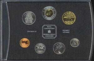 Royal Canadian Mint 2001 Specimen Set 7 Coin $2 Coin