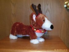 Dancing Walmart Christmas Pembroke Welsh Corgi Batteries Included Nwt