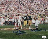 PACKERS Willie Davis Bob Skoronski signed Super Bowl I photo JSA COA Autographed