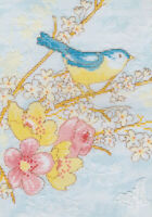 14ct Cross Stitch Kit - Bothy Threads dream bird floral branch - Counted 17x24cm