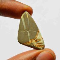 15 Carat Natural Dragon Septarian Gemstone Loose Cabochan Fancy Shape R21725