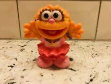 Sesame Street WORKSHOP 2010 figure Cake Topper ZOE RARE HTF Pink Tutu Star