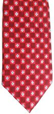 "Andhurst Men's Silk Tie 56.5"" X 4"" Multi-Color Geometric"