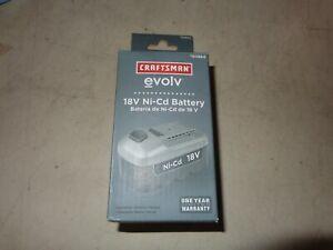craftsman evolv battery 18 volt ni-cd 30864 cordless tools