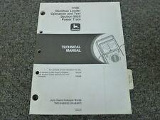 John Deere 310E Backhoe Loader Engine Power Train Service Repair Manual TM1648