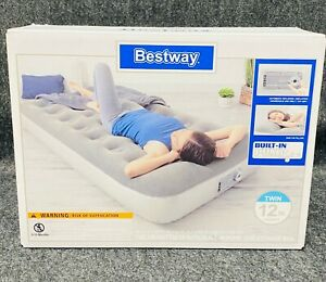 Bestway 12in Air Mattress with Built in Ac Pump - Twin