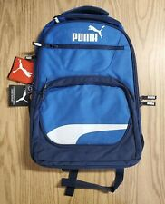 "NEW Puma 19"" Squad Backpack - Blue - New With Tags"