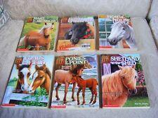 6 Animal Ark horse books Foal Pony Shetland Mare 10 20 24 26 27 31 book lot