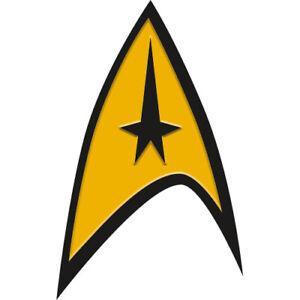 Star Trek Federation Logo Émail / Métal Broche Badge (NM)