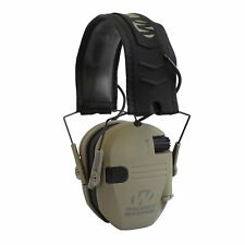 Walker's Razor Slim Folding Protection Electronic Shooting Ear Muffs, Dark Earth