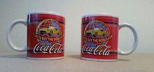 "Coca-Cola Mugs ""I'd like to buy the world a coke""  *Set of 2*  Houston Harvest"