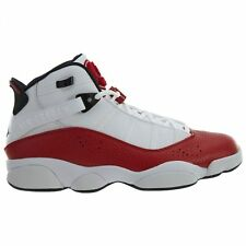 differently 68fa6 adb5a Jordan 6 Rings Mens 322992-120 White University Red Basketball Shoes Size 8