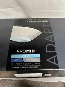 Tempur-Pedic TEMPUR-Adapt ProMid + Cooling Standard / Queen Pillow White