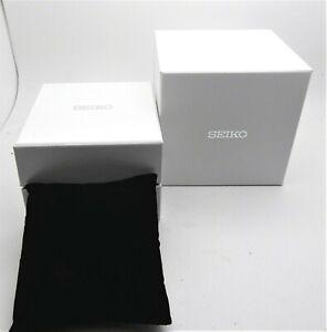 Seiko Uhrenbox-Umkarton Box Uhren Schachtel mit Kissen
