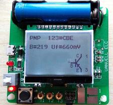 Mega328 Transistor Tester Diode Triode inductor Capacitance ESR Meter Useful