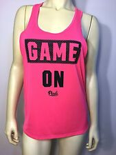 Victoria's Secret Pink Game On Workout Athletic Racerback Tank Top Small