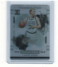 2017-18 Panini Impeccable Stainless Stars #20 Larry Bird /99 - NM-MT
