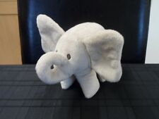 THE LITTLE WHITE COMPANY BEIGE ELEPHANT BABY COMFORTER SOFT TOY