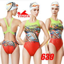 NWT YINGFA 639 COMPETITION TRAINING RACING SWIMSUIT XXL US MISS 10-12 SIZE 34/36