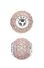 NUOVO Originale Argento Sterling & Rose Gold Pandora ESSENCE LOVE CHARM 796064NOP