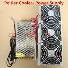 DIY Electronic Semiconductor Refrigerator Radiator Air Cooling Equipment + Power